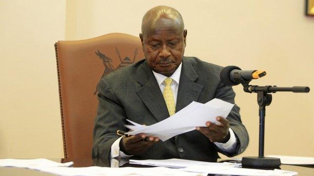 Ugandan President-Yuweri Museveni